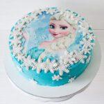 Дитячий торт холодне серце