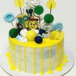 Дитячий торт без мастики