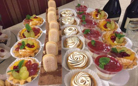 Порційні десерти для кенді бару