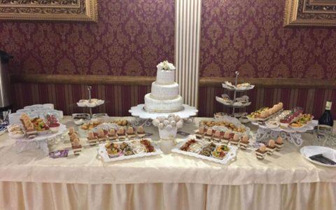 Весільний кенді бар від Золотого фламінго