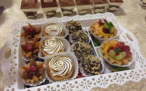 Десерти для кенді бару