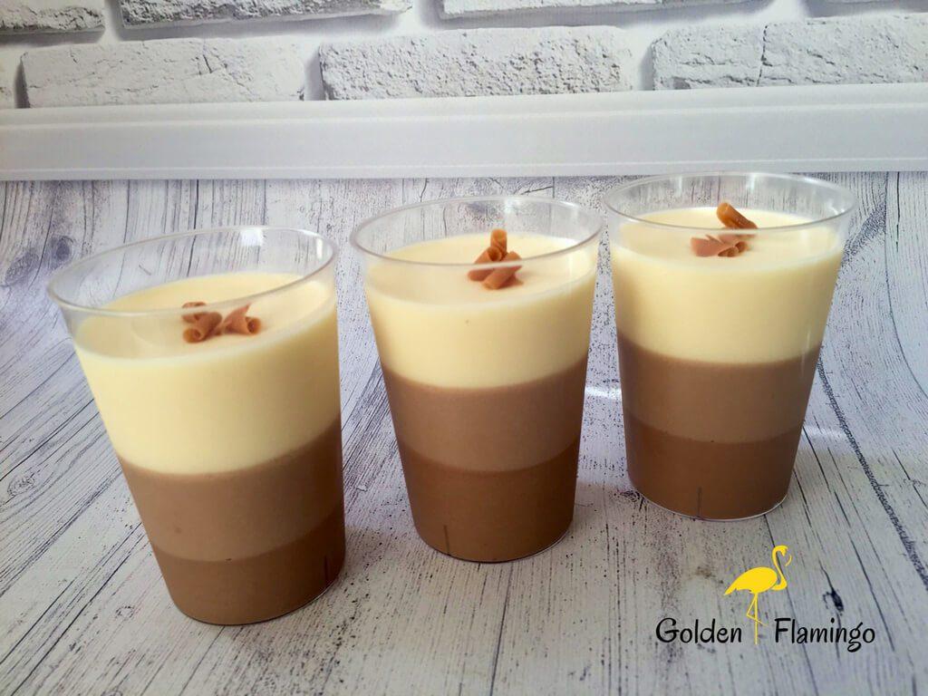 Порційний десерт для кенді бару - три шоколади