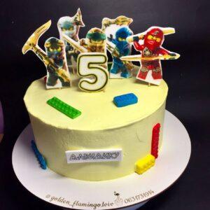 Торт Лего ніндзяго