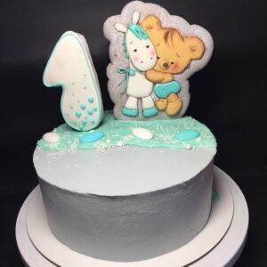 Торт з пряниками на рочок