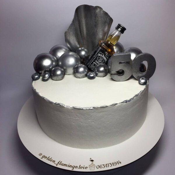Торт на 50 років