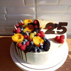 Торт на 25 років