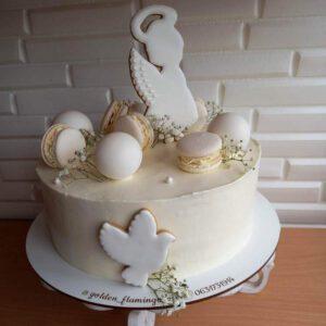 Торт на хрестини