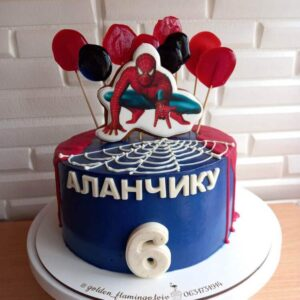 Торт Spider man