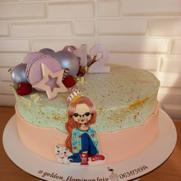Торт для дівчинки
