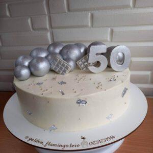 Торт на ювілей 50 років