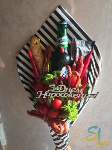 Букет для чоловіка на день народження