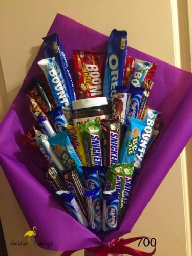 Дитячий букет із солодощами